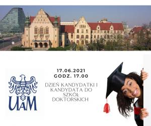 Dzień Kandydatki i Kandydata do Szkół Doktorskich UAM